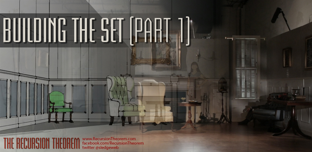 Building a film set – Part 1